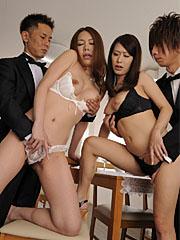 Preview Japan HDV - Kai and Yanagida getting rammed