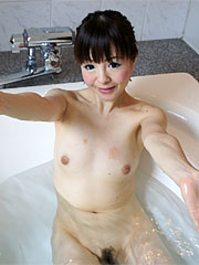 Slender japanese beauty ayu kawashima gets nasty under the shower.    Slender Japanese beauty Ayu Kawashima gets nasty under the shower Read more!