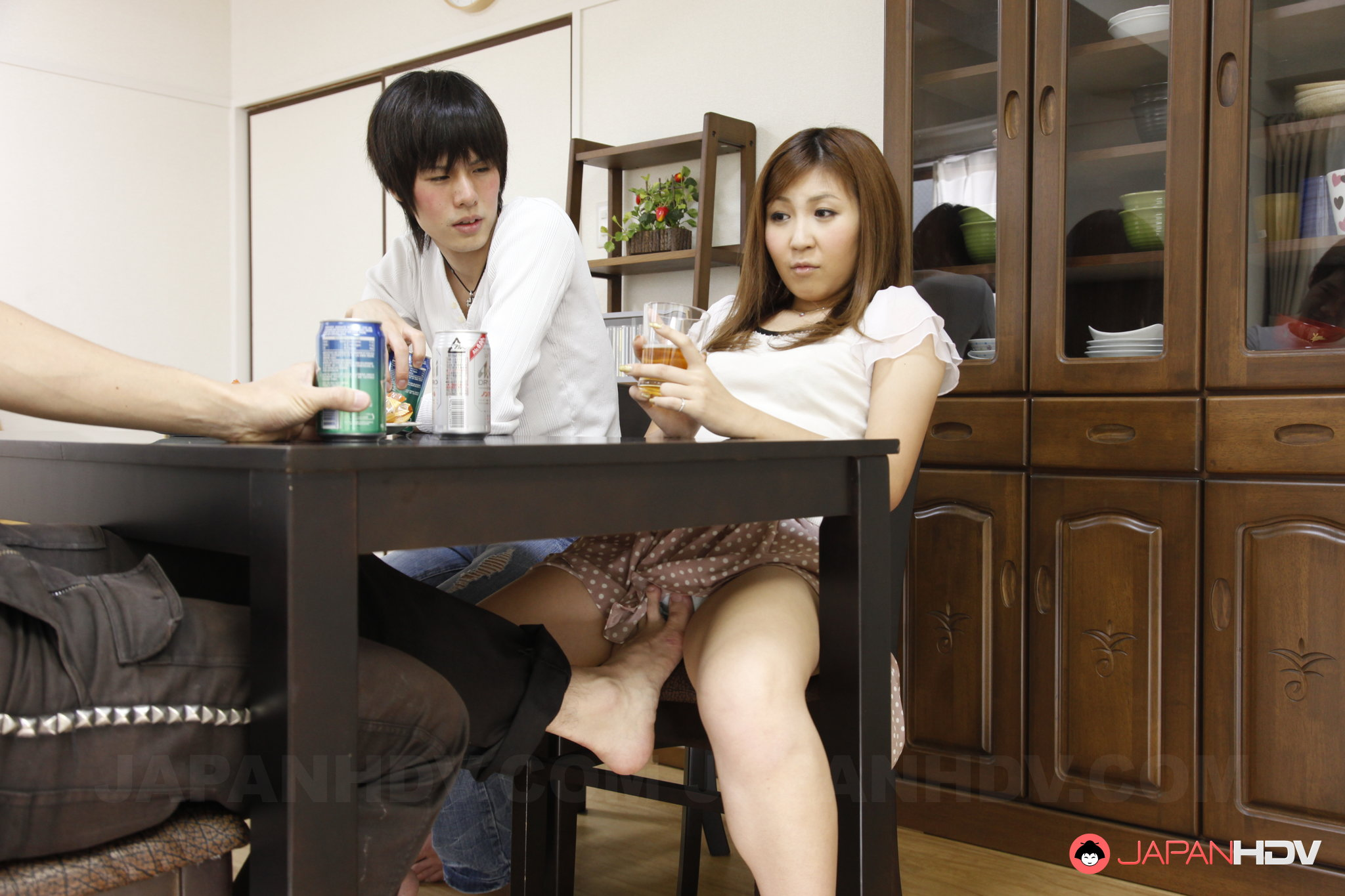 Japanese Fuck Under Table