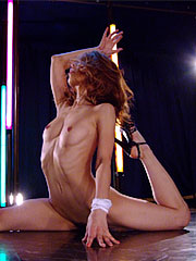 Long haired brunette stripper sally yoshino shows her dance moves. Long hairy brunette stripper Sally Yoshino shows her dance moves Read more!