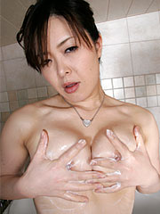 Horny japanese darling sayaka takase soaps her body in the bathroom. Exciting Japanese darling Sayaka Takase soaps her anatomy in the bathroom Read more!