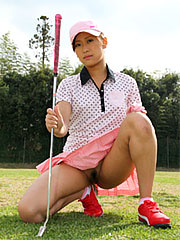Stunning little golf playing darling nao yuzumiya showing off. Delicate little golf playing darling Nao Yuzumiya showing off Read more!