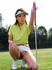 Gorgeous japanese babe erika hiramatsu really likes to play golf. Elegant Japanese babe Erika Hiramatsu really likes to play golf Read more!