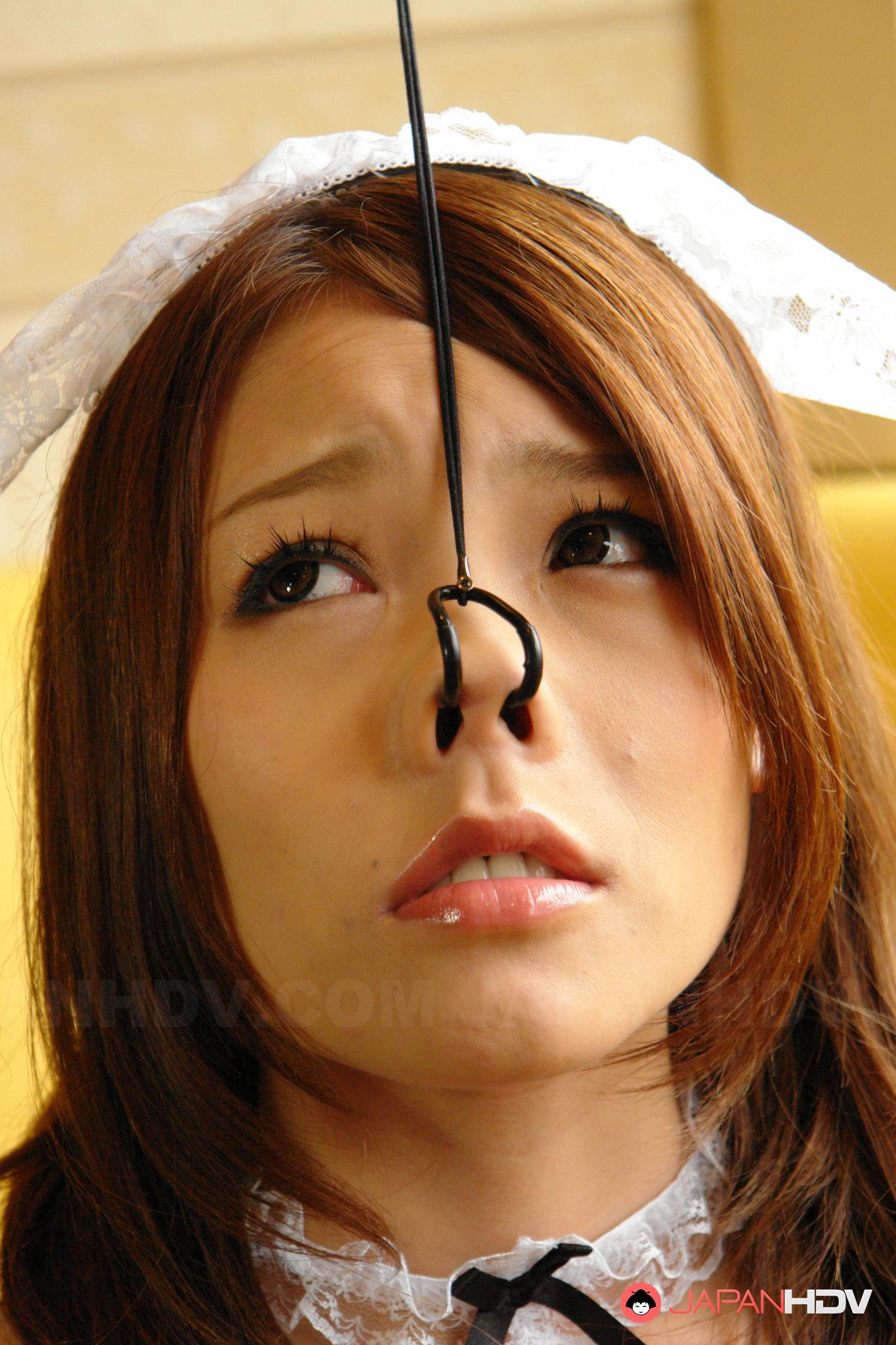 Japanese porn nose hook