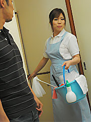 Japanese lusty housemaid nana oshikiri cleans her partner s huge dick. Japanese excited housemaid Nana Oshikiri cleans her partner's huge penish Read more!