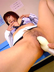 Charming brunette teacher kyoushi kan toying her hairy cunt so voluminous. Charming brunette teacher Kyoushi Kan toying her hairy vagina so violent Read more!