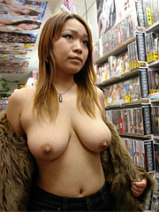 Pretty japanese chick nami misa shows her lascivious anatomy in the sex shop. Lovely Japanese chick Nami Misa shows her horny body in the sex shop Read more!