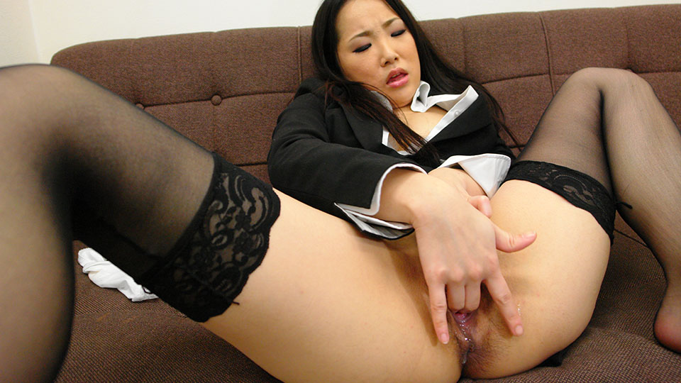 Ai mizushima in libidinous black stockings stimulates her shaved vagina. Ai Mizushima in lascivious black stockings stimulates her shaved pussy Read more!