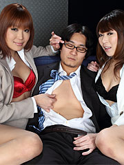 Mind blowing japanese porn babes jun kusanagi and yuuno hoshi.    Mind blowing Japanese porn babes Jun Kusanagi and Yuuno Hoshi Read more!