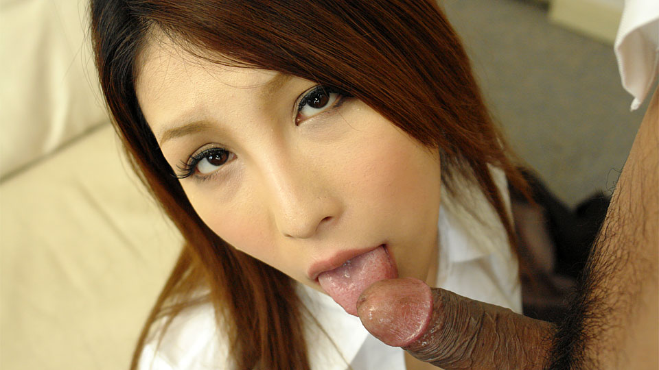 Brunette office lady rara mizuki cock blow a huge cock with so much joy. Brunette office lady Rara Mizuki sucks a huge cock with so much joy Read more!