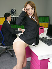 Cute little japanese porn darling saki posing in her office Charming little Japanese porn darling Saki posing in her office Read more!.