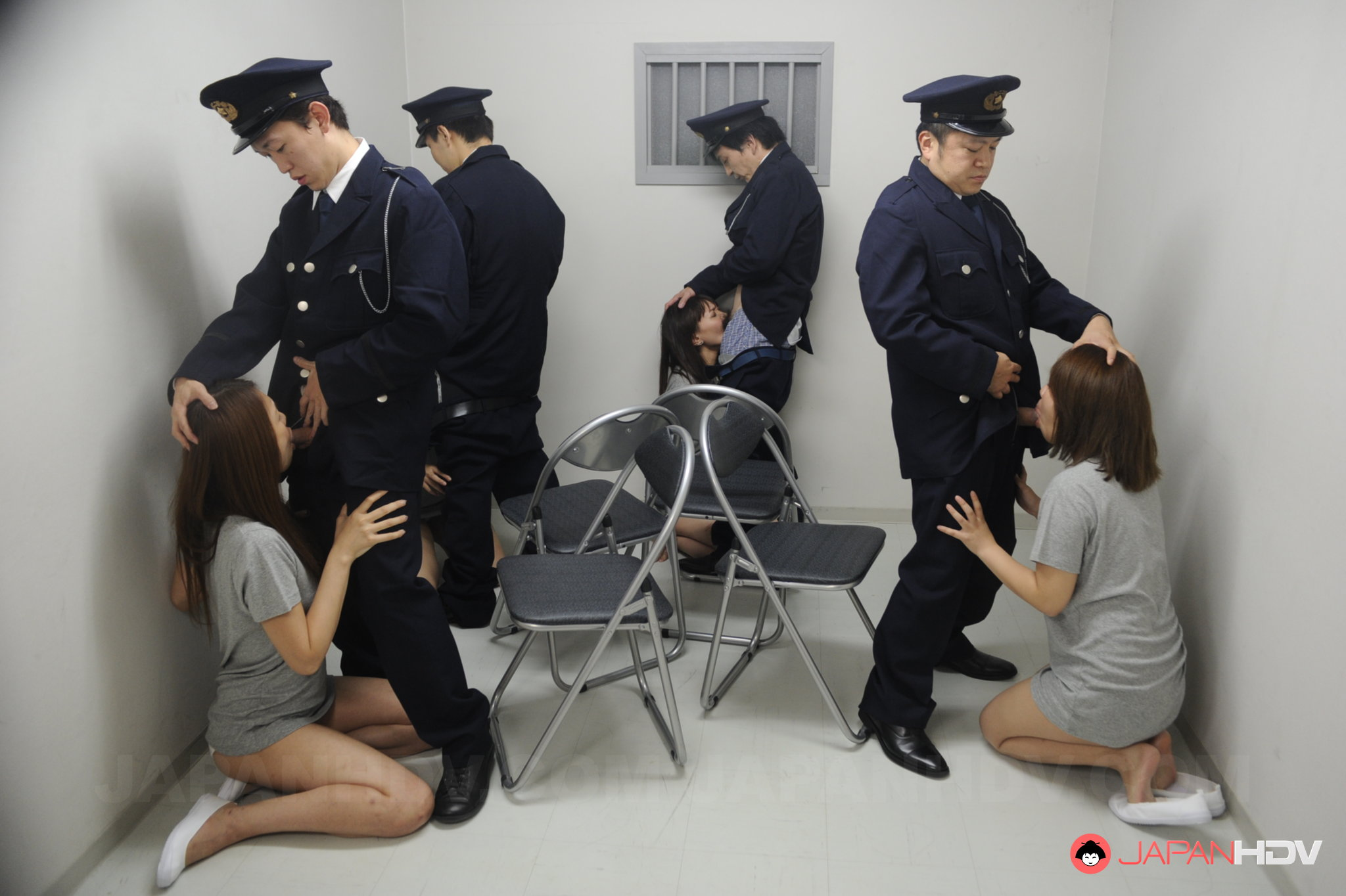 Super Hot Asian Sex Orgy In The Prison Cell Japan Hdv