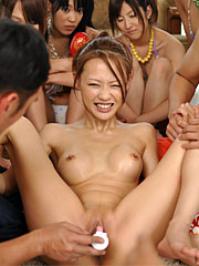 Fantastic japanese porn queens enjoying some excited wrestling and dildos. Fantastic Japanese porn queens enjoying some excited wrestling and dildos Read more!