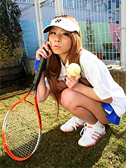 Remika uehara likes to play tennis but she also likes to pose.    Remika Uehara likes to play tennis but she also likes to pose. Read more!
