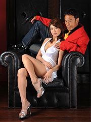 Jakuza wife runa sesaki in hot dress shows her exciting legs on the sofa. Jakuza wife Runa Sesaki in hot dress shows her sexy legs on the sofa Read more!