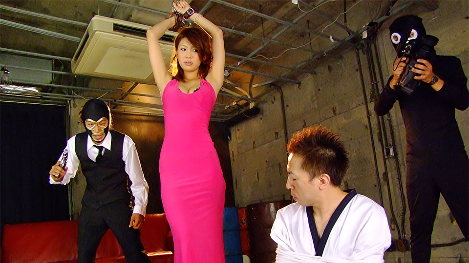 Libidinous asian spy runa sesaki gets caught and tag teamed by villains. Lascivious Asian spy Runa Sesaki gets caught and tag teamed by villains  Read more!