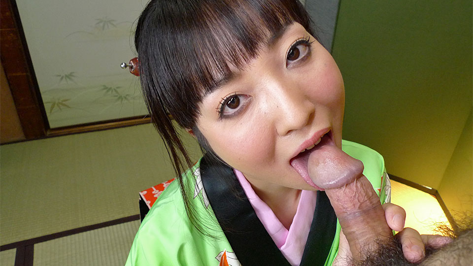 Pleasant japanese lady in a kimono shows how to blow a great pecker. Pretty Japanese lady in a kimono shows how to cock sucking a large pecker  Read more!