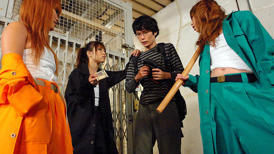 Young man gets used by tsubasa miyashita and her excited girlfriends. Young man gets used by Tsubasa Miyashita and her libidinous girlfriends Read more!