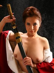 Yuki tsukamoto gets her hard tits spilling out of her kimono. Yuki Tsukamoto gets her massive boobs spilling out of her kimono. Read more!